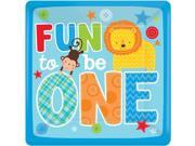 """One Wild Boy 1st Birthday 10"""""""" Luncheon Plates (8 Pack) - Party Supplies"""" 9SIA0BS2YY0739"""