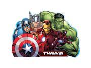 Avengers Postcard Thank You Card (8 Pack) - Party Supplies 9SIA2K34TG5109