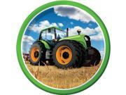 """Tractor Time 9"""""""" Lunch Plates (8 Count) - Party Supplies"""" 9SIA0BS3VR0688"""