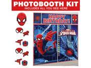 Spiderman Photo Booth Kit - Party Supplies 9SIA0BS3T10885