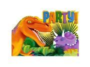 Dinosaur Party Invitations (8-pack) - Party Supplies 9SIV16A6751951