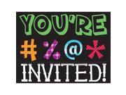 HOLY BLEEP INVITATIONS - Party Supplies 9SIA0BS0NC2074