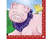 Farm Friends Barnyard Luncheon Napkins (16 Pack) - Party Supplies 9SIA0BS6JU3769