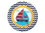 "Ahoy Matey 9"""" Lunch Plates (8 Count) - Party Supplies"" 9SIA0BS3UC8356"