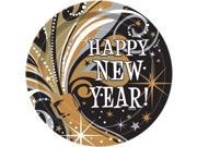 New Year's Burst Cake Plates (8 Pack) - Party Supplies 9SIA0BS2X80830