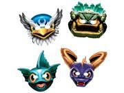 Skylanders Paper Masks (8 Pack) - Party Supplies 9SIA0BS2YY1404