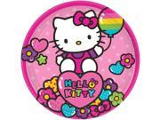"""Hello Kitty Rainbow 7"""""""" Cake Plates (8 Pack) - Party Supplies"""" 9SIA0BS2YX8992"""