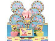 Peppa Pig Birthday Party Deluxe Tableware Kit Serves 8 - Party Supplies