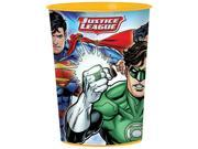 Justice League 16oz Favor Cup - Party Supplies 9SIA0BS3U79426