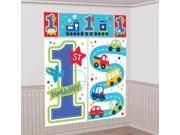 All Aboard 1st Birthday Wall Decorating Kit (Each) - Party Supplies 9SIA0BS2YY0330