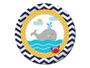 """Ahoy Matey 7"""""""" Cake Plates (8 Count) - Party Supplies"""" 9SIA0BS3X46536"""
