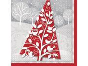 Frosted Holiday Luncheon Napkins (20 Pack) - Party Supplies 9SIA0BS2YX8917