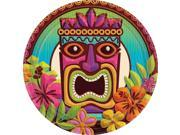 "Tropical Tiki 7"""" Cake Plates (60 Pack) - Party Supplies"" 9SIA0BS2YY0555"