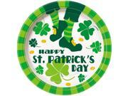 """St. Pat's Jig 9"""""""" Plate (8 Count) - Party Supplies"""" 9SIA0BS3UB7838"""