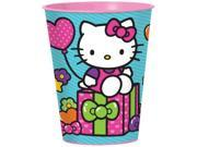 Hello Kitty Rainbow 16oz. Favor Cup (Each) - Party Supplies 9SIA0BS2YX9424