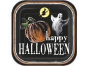 """Ghostly Halloween 9"""""""" Luncheon Plates (8 Pack) - Party Supplies"""" 9SIA0BS3645818"""