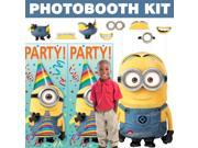Despicable Me Deluxe Photo Booth Kit - Party Supplies 9SIA0BS3U05684
