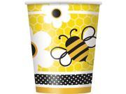 Bumble Bee 9 oz Cups (8 Pack) - Party Supplies 9SIA0BS1BD7184