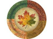 "Rustic Fall  7"""" Small Plates (8 Pack) - Party Supplies"" 9SIA0BS3920028"