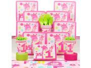 One Wild Girl 1st Birthday Deluxe Kit (Serves 8) - Party Supplies 9SIA0BS2YY0526