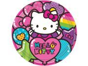 """Hello Kitty Rainbow 9"""""""" Luncheon Plates (8 Pack) - Party Supplies"""" 9SIA0BS2YY1390"""
