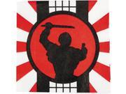 Ninja Warrior Beverage Napkins (16 Count) - Party Supplies 9SIA0BS3J77012
