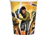 Star Wars Rebels 9oz Cups (8 Pack) - Party Supplies 9SIA0BS2YY0952