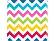 "Chevron Multi Color 10"""" Luncheon Plates (18 Pack) - Party Supplies"" 9SIA0BS2YX9906"