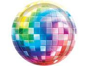 "70's Disco Fever 7"""" Cake Plates (8 Pack) - Party Supplies"" 9SIA0BS2YY0556"