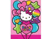 Hello Kitty Rainbow Plastic Table Cover (Each) - Party Supplies 9SIA0BS2YY0895