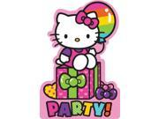 Hello Kitty Rainbow Invitations (8 Pack) - Party Supplies 9SIA2K34TG3152