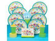 Birthday Burst Deluxe Birthday Party Tableware Kit (Serves 8) 9SIA0BS49K2587