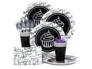 Signature Birthday Standard Birthday Party Tableware Kit (Serves 8) 9SIA0BS49K2687