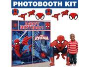 Spiderman Deluxe Photo Booth Kit - Party Supplies 9SIA0BS3U05711