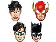 Justice League Masks (8 Count) 9SIA62V5N14016