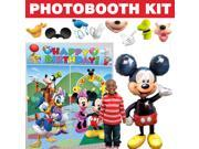 Mickey Clubhouse Deluxe Photo Booth Kit - Party Supplies 9SIA0BS3U05642