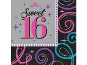 Sweet 16 Celebration Luncheon Napkins (16 Pack) - Party Supplies 9SIA0BS2YY0724