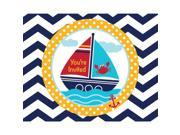 Ahoy Matey Party Invitations (8 Count) - Party Supplies 9SIA0BS3X46570
