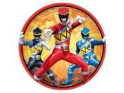 """Power Rangers Dino Charge 7"""""""" Cake Plates (8 Pack) - Party Supplies"""" 9SIABHU59H6656"""