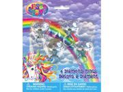 Neon Pony Lisa Frank Diamond Ring Favors (4 Pack) - Party Supplies 9SIA0BS2YY1195
