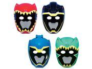 Power Rangers Dino Charge Paper Masks (8 Pack) - Party Supplies 9SIA0BS2YX9941