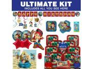 Jake and the Neverland Pirates Ultimate Kit (Serves 8) - Party Supplies 9SIA0BS49K0792