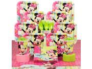 Minnie Birthday Party Deluxe Tableware Kit Serves 8 - Party Supplies 9SIA0BS3583377