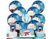 Joyful Snowman Deluxe Kit (Serves 8) - Party Supplies 9SIA0BS2YX9939