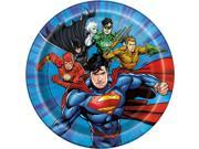 "Justice League 7"""" Cake Plates (8 Count)"" 9SIA62V5N14382"