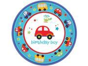 """All Aboard 1st Birthday 7"""""""" Cake Plates (18 Pack) - Party Supplies"""" 9SIA0BS2YX9504"""