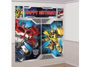 Transformers Scene Setter Wall Decorating Kit (Each) - Party Supplies 9SIACYW74M5127