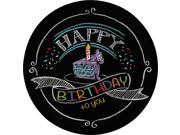 """Chalk Party 7"""""""" Cake Plates (8 Pack) - Party Supplies"""" 9SIA0BS6RA3094"""
