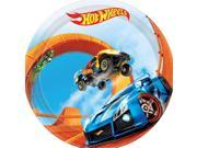 """Hot Wheels Wild Racer 7"""""""" Cake Plate (8 Count) - Party Supplies"""" 9SIA0BS3VV2754"""