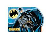 Batman Postcard Thank You Cards (8 Pack) - Party Supplies 9SIA2K34TG3840